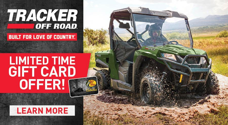 TRACKER Off Road Sales Event